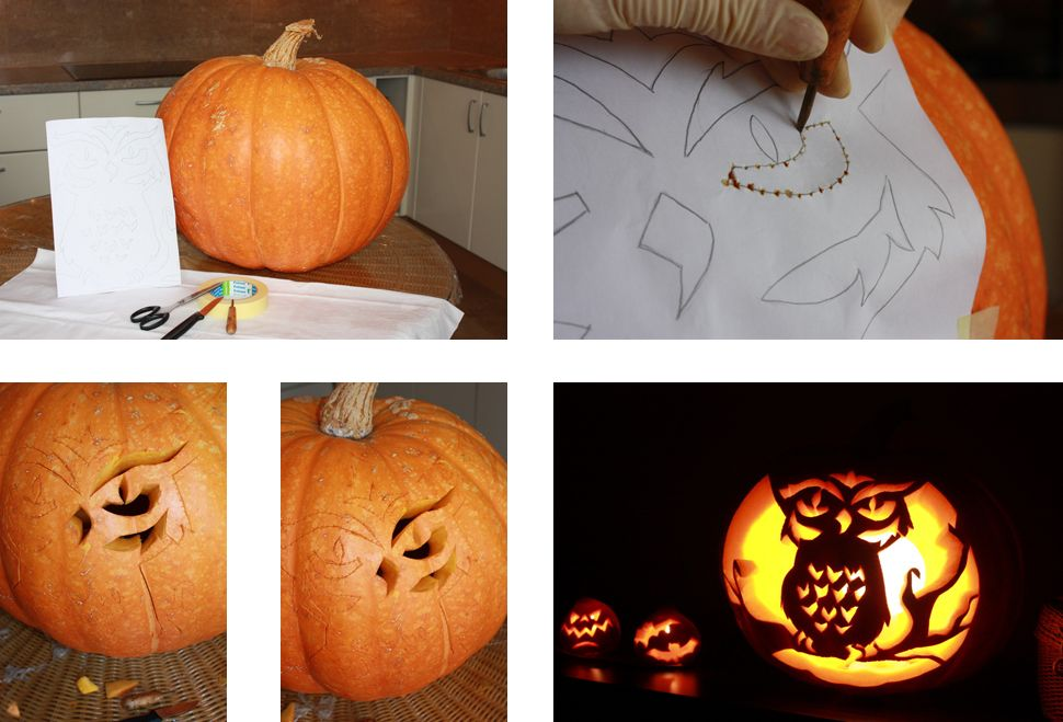 Тыква на хэллоуин своими руками фото 38